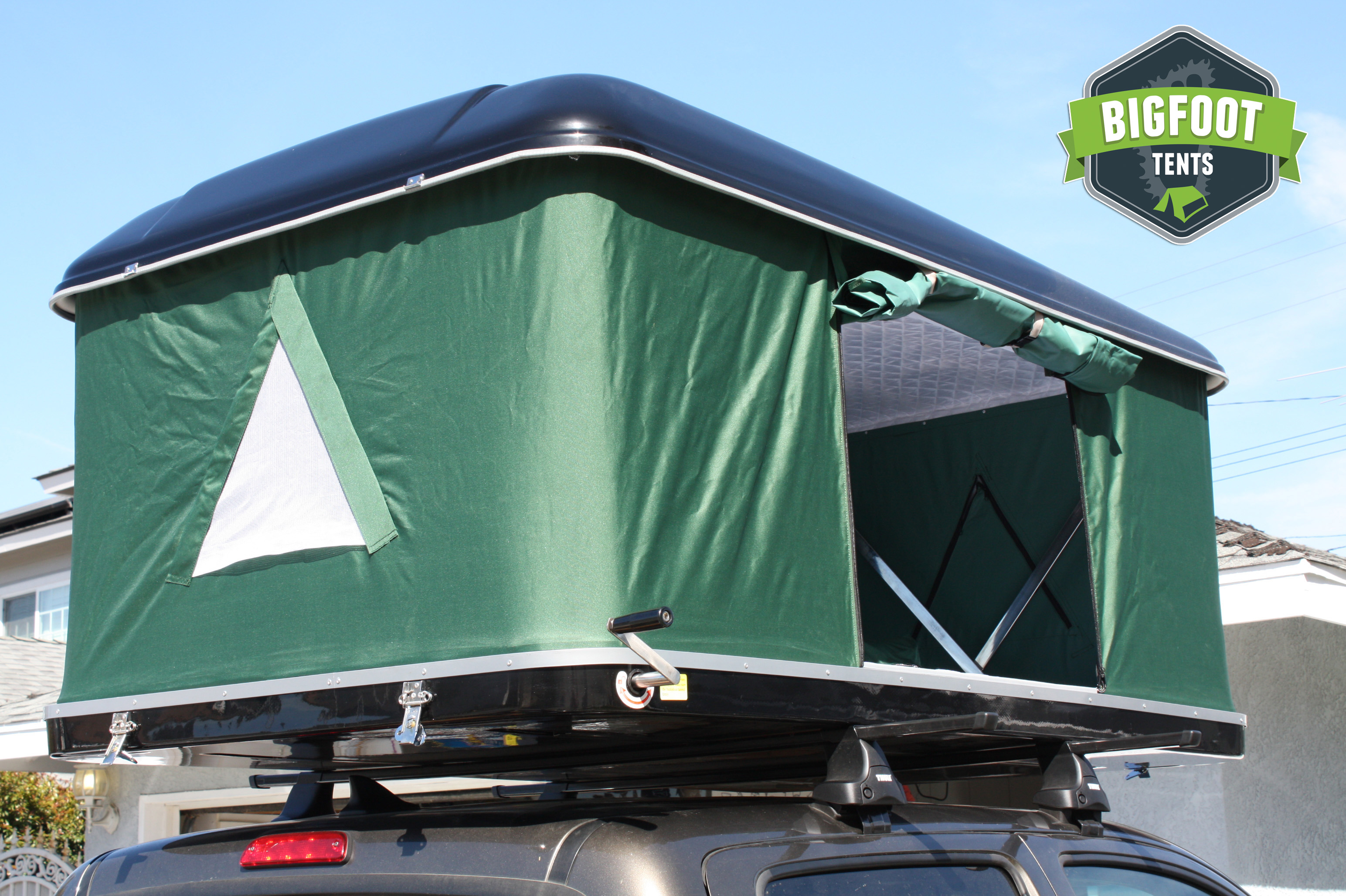 Quot Bigfoot Quot Roof Top Tent Model 9055