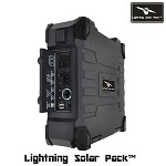 Lightning Solar Pack - Power Bank Solar Generator 50 watt